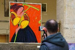 Выставка львовского художника в Ужгороде открывает серию