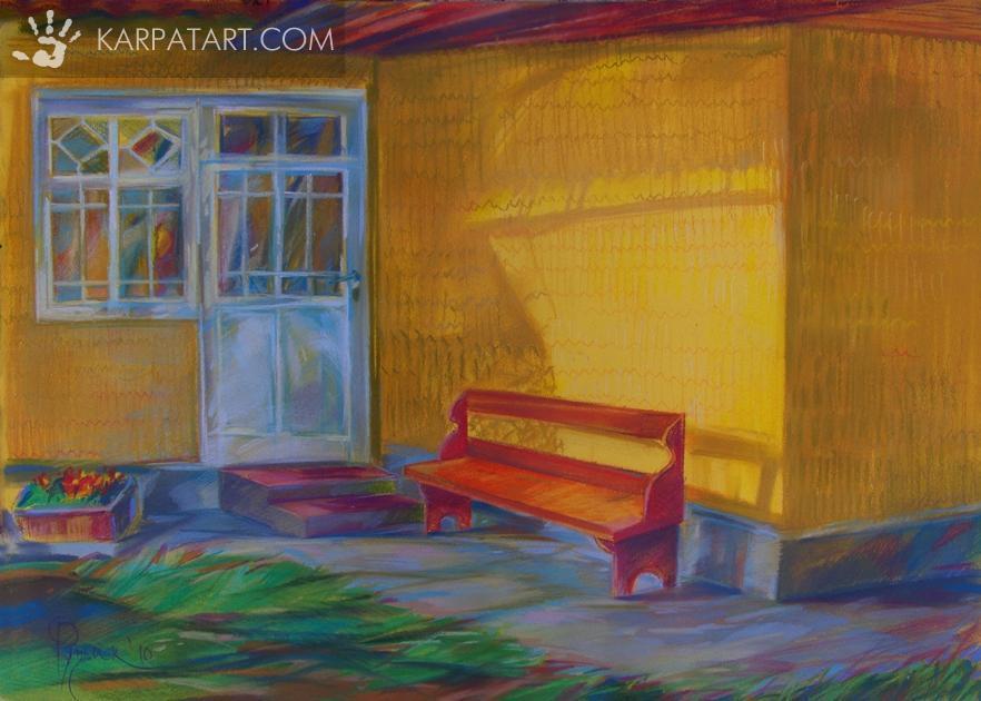 Near the house / Ruschak Olga