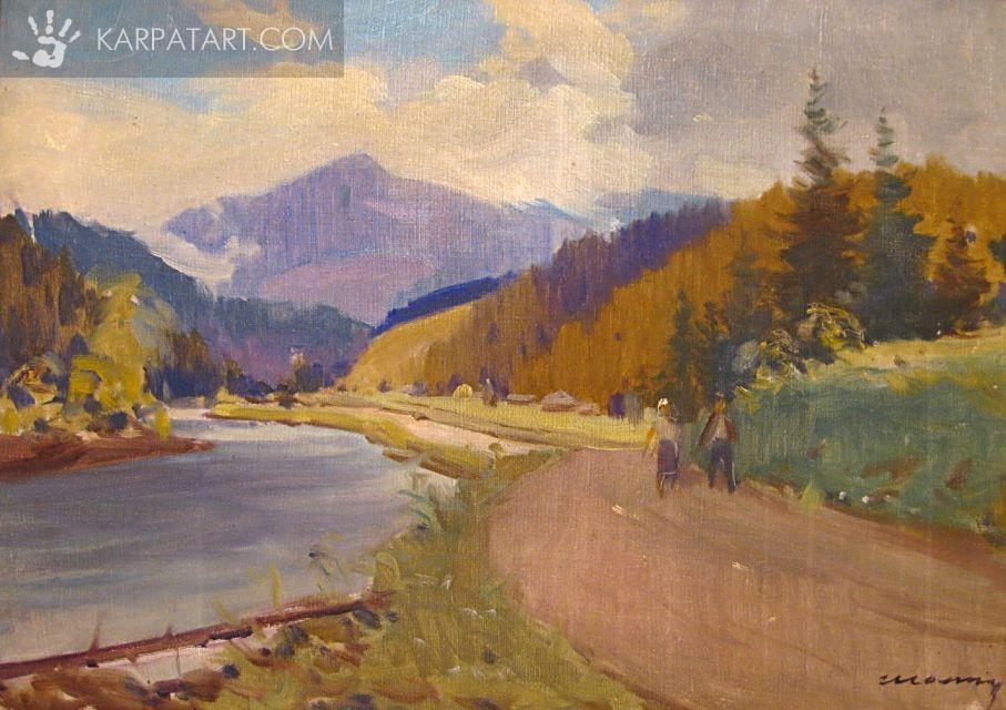 Mourning in mountain`s road / Sholtes Zoltan