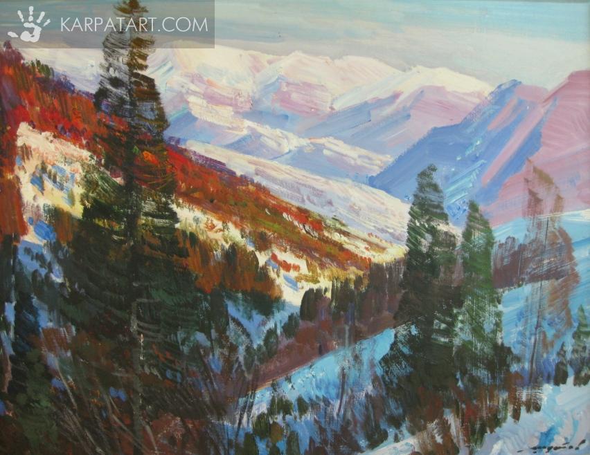синевірський пейзаж / Шутєв Іван Михайлович