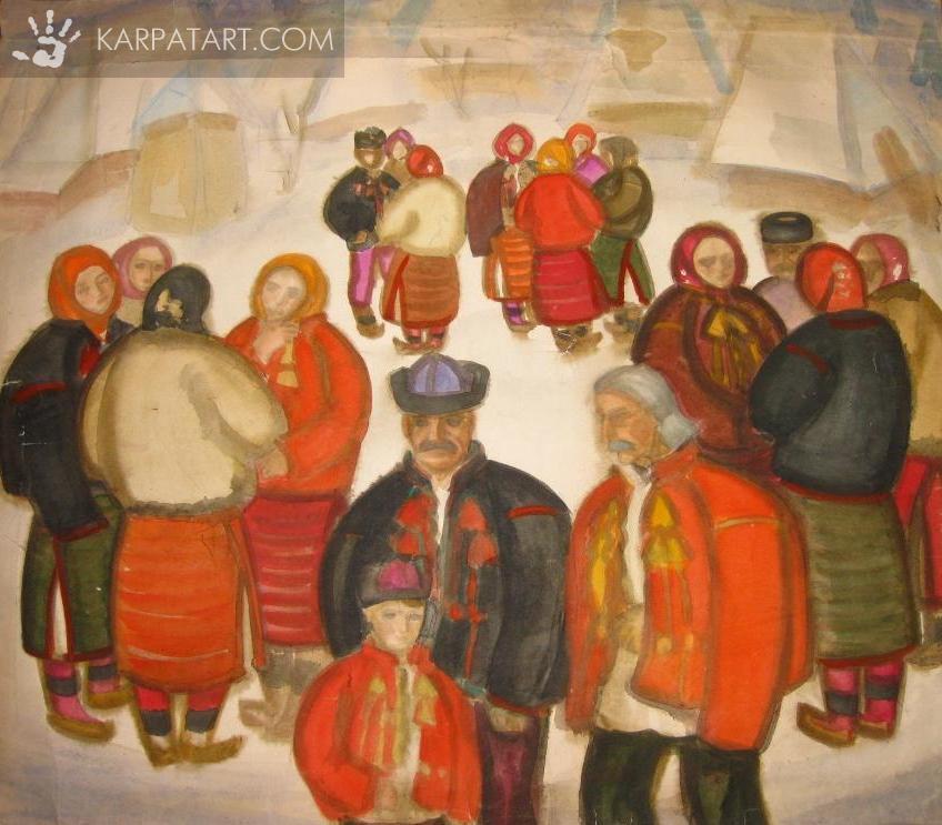 На гуцульщині. 1972 / Коцка Андрій Андрійович