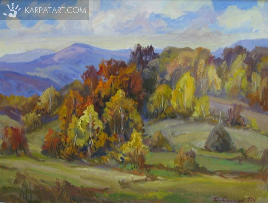 Мальовнича осінь / Бабинець Йосип Михайлович