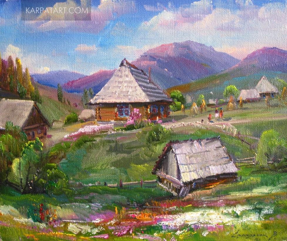 Верховинські хати / СВАЛЯВЧИК ВАСИЛЬ ПЕТРОВИЧ