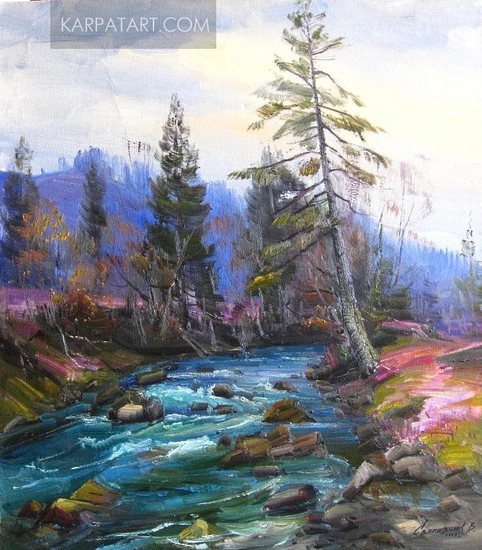 Mountain river / Svalyavchyk Vasyl