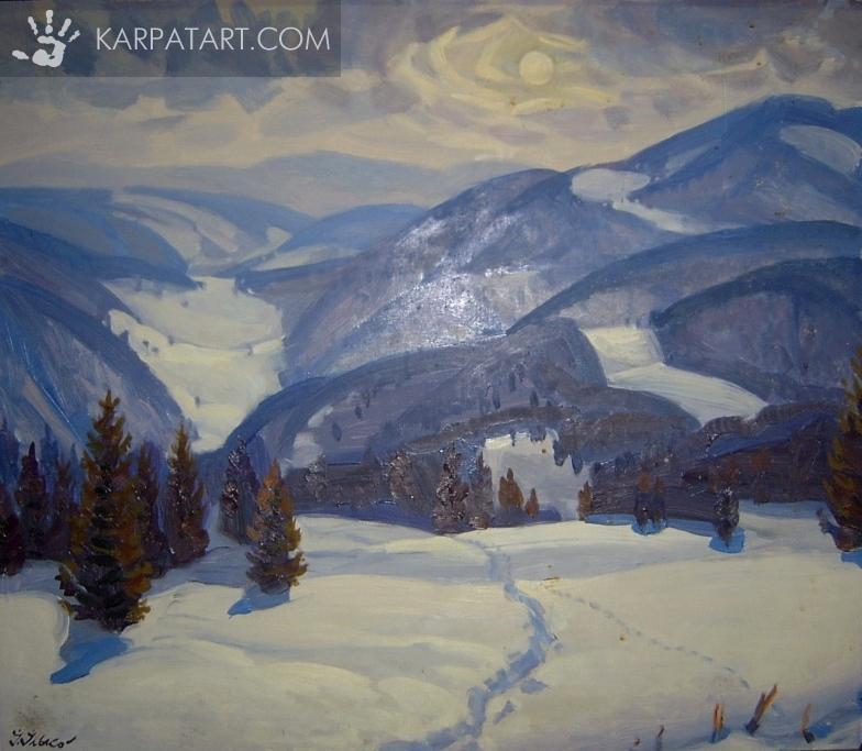 Karpatian on winter / Ilko Ivan