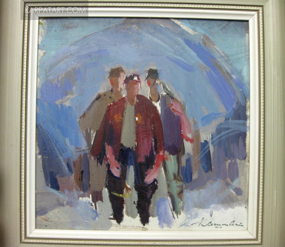 Lumberjacks. 1960s / Kashay Anton