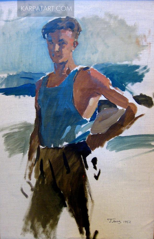 Lumberjack. 1952 / Hlyuk Havrylo