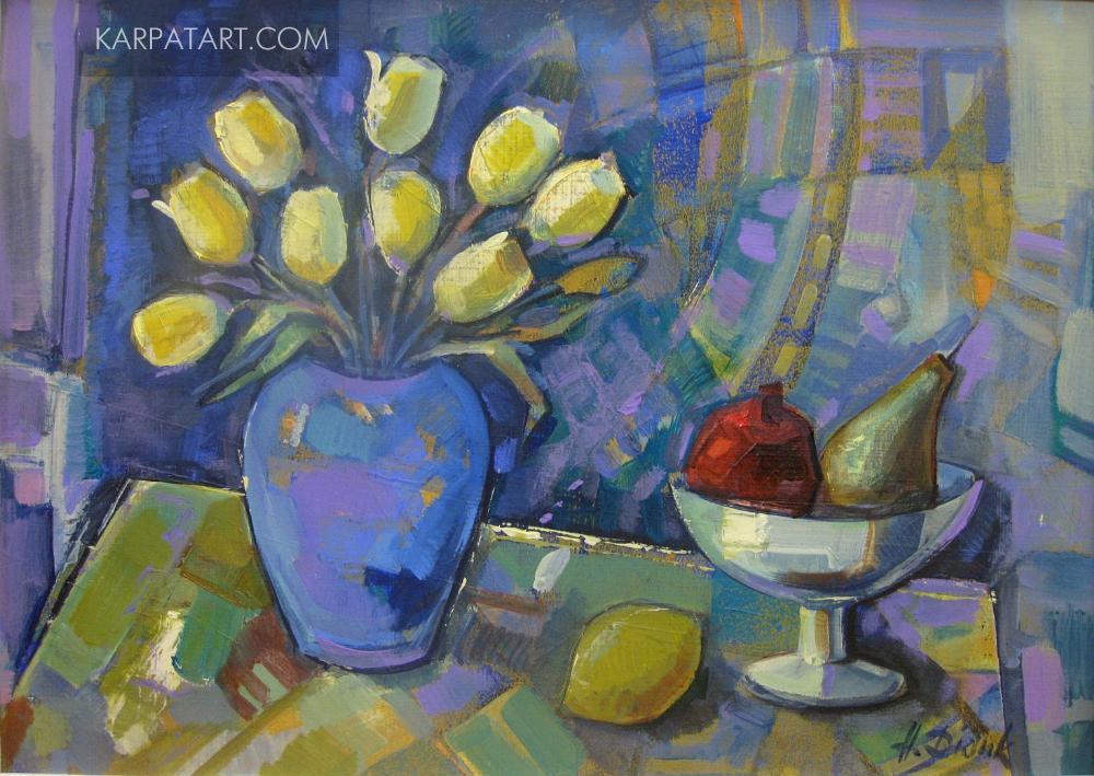 Натюрморт з фруктами / Дідик Надія Ярославівна