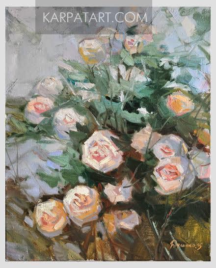 White roses / Dulenko Jaroslav