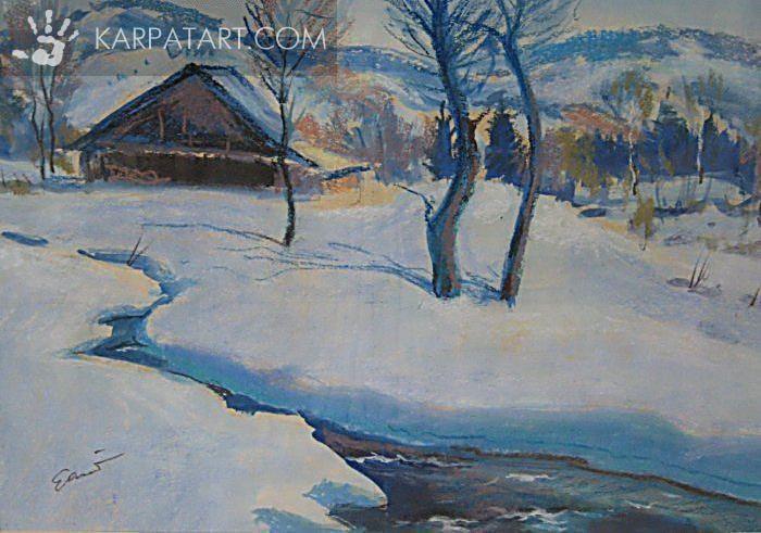 Зимний день / Гарани Иосиф Иосифович